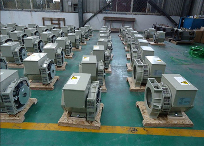 50hz 3000rpm 3 Phase AC Generator Self Exciting 100% Copper Wire