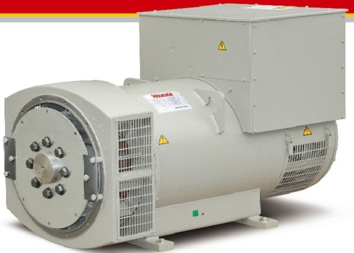 280kw / 350kva Excitation Permanent Magnet Alternator / AC Diesel Generator
