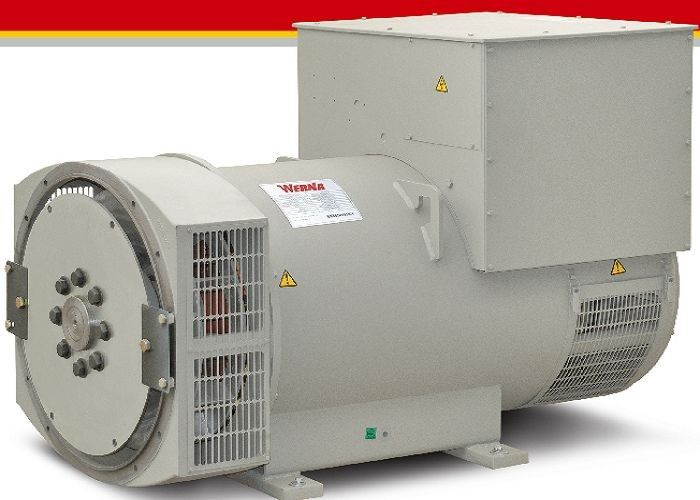 Stamford Type 544kw Synchronous Generator 3 Phase With Two Year Warranty
