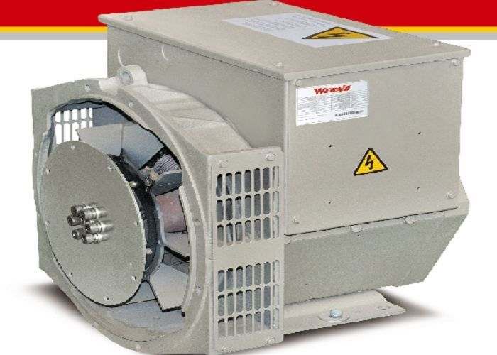 Class H 12KW Brushless AC Generator For Cummins Generator Set 1800 RPM