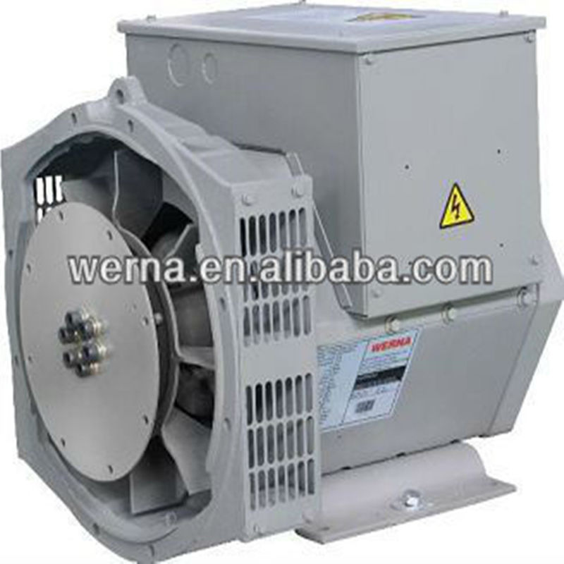 Portable Strong Single Phase AC Generator 11.8kw / 11.8kva 2 / 3 Pitch